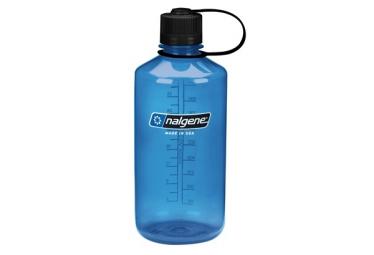 Botella nalgene boca estrecha azul 1l
