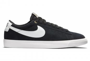 Chaussures Nike SB Blazer Low GT Noir Blanc