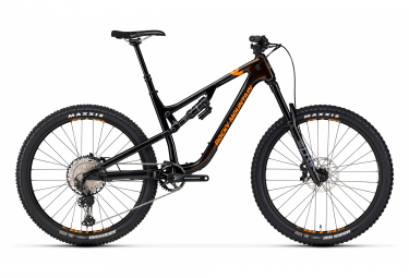 VTT Tout-suspendu Rocky Mountain 2020 Altitude Carbon 50 27.5'' Shimano XT/SLX 12V Noir/Marron