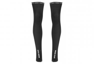 Calentadores de piernas Castelli Nano Flex + negros