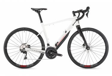 Vélo de Route Électrique Moustache Dimanche 28.3 Shimano Tiagra 10V 500 Wh 700 mm Blanc 2020