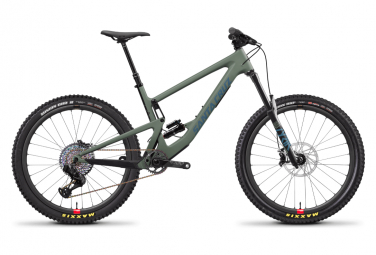 SANTA CRUZ BRONSON 3 CC RSV 27,5' ALL-HANGING MTB | SRAM XX1 Eagle AXS 12V | Matte Olive & Blue | 2020