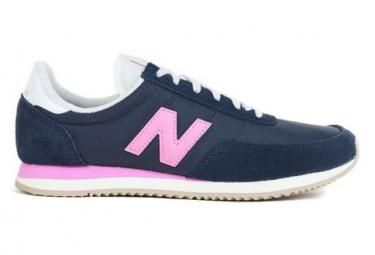 Image of Basket bleu marine et rose femme new balance wl720 36