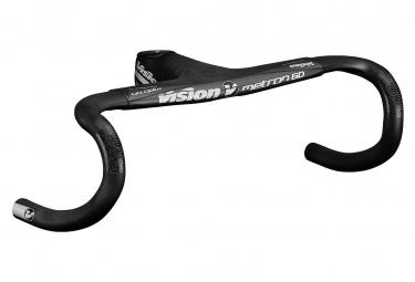 Manillar integrado vision metron 6d 120 mm carbon black 420