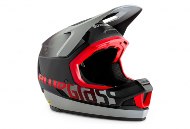 Casco Integral Bluegrass Legit Carbon CE Gris / Rouge