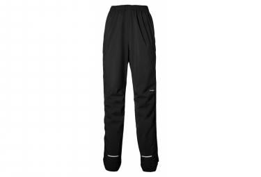 Pantalones de lluvia de bicicleta basil skane negro m