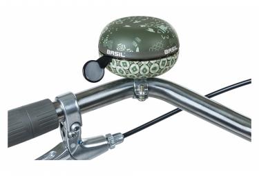 Campanello per bicicletta Basil Boh me 80 mm verde bosco