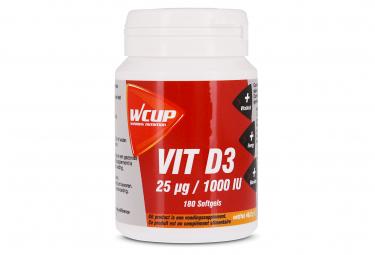 Wcup vitamina d 180 caps suplemento alimenticio
