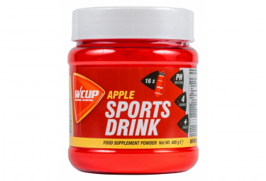 Bebida energetica wcup sports drink apple 480g