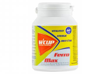 Wcup ferro max 60 caps suplemento alimenticio
