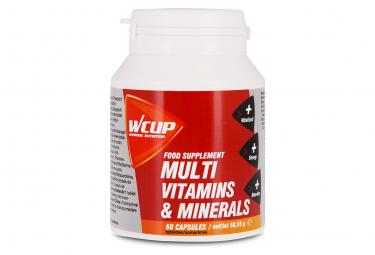 Complément alimentaire WCUP Multi Vitamines et Minéraux 60 caps
