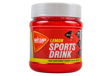 Bebida energetica wcup sports drink lemon 480g