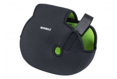 Basil Mid Engine Cover universal black