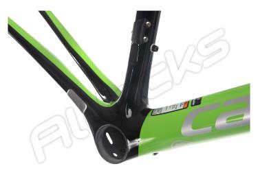 Kit Cadre + fourche Cannondale SuperSix EVO Hi-MOD Vert Noir Team Replica