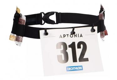 Aptonia Triathlon SD Cinturón negro con pechera