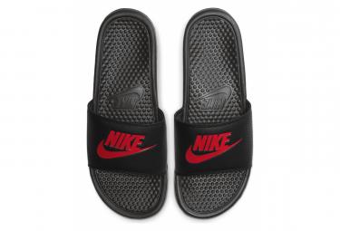 Nike Benassi Black Red