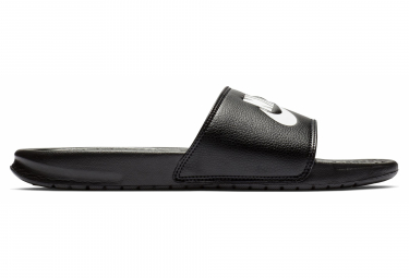Claquettes Nike Benassi Just Do It Noir Blanc