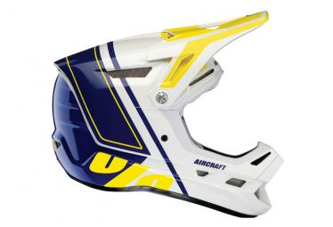 Int gral 100% Aircraft Composite Rastoma White / Blue Helmet
