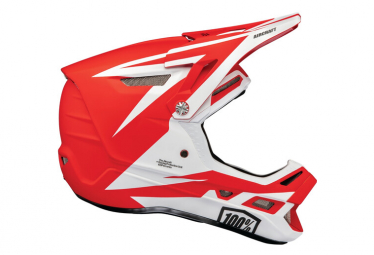 Int gral 100% Aircraft Composite Rapidbomb / Red Helmet