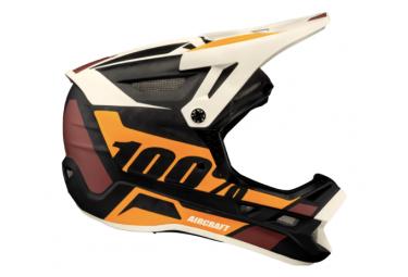 Integrierter 100% Aircraft Carbon Mips Revburst Beige / Brown Helm