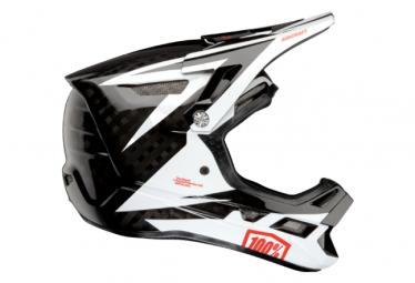Int gral 100% Aircraft Carbon Mips Rapidbomb White / Black Helmet