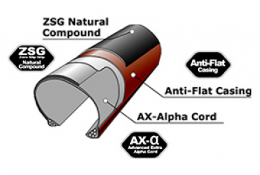 Neumático Gravel Panaracer Gravel King 700mm Tubeless Compatible Negro / Marrón