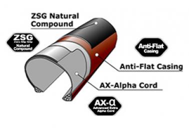 Neumático Gravel Panaracer Gravel King AC 700mm Tubeless Compatible Negro / Marrón