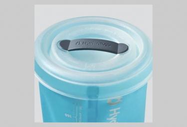Gourde souple Hydrapak Stash 750 ml Gris