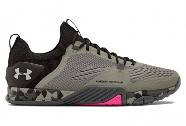 Under Armour TriBase Reign 2 Grey Pink Men