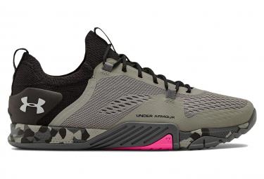 Chaussures de Cross Training Under Armour TriBase Reign 2 Gris / Rose