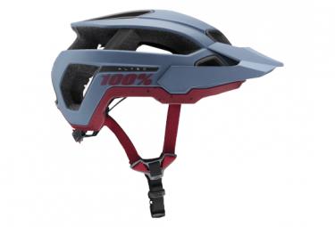 100% Altec Blue All-Mountain Helmet