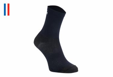 Pair of LeBram Croix Morand Navy Blue Socks