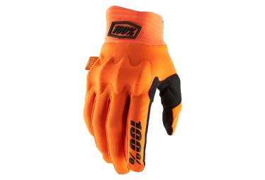 Long Gloves 100% Cognito D30 Orange Fluo / Black