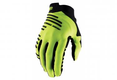 Long Gloves 100% R-Core Neon Yellow