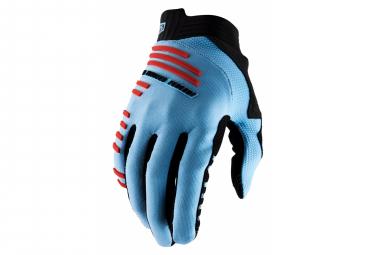 Lange Handschuhe 100% R-Core Blau / Rot