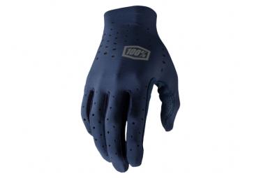 Lange Handschuhe 100% Sling Navy Blue