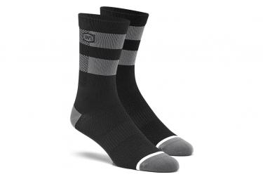 100% Flow Performance Graue Socken