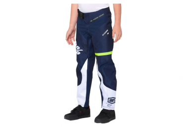 Children's Pants 100% R-Core Blue / Yellow