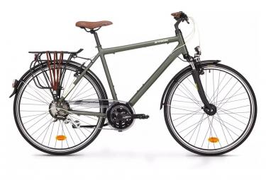 Bicicleta Cicloturística Mujer Btwin UTK 500 HOPRIDER Vert