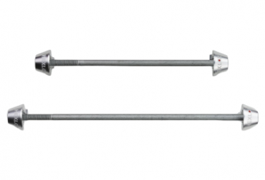 Hexlox MTB / Road Front and Rear Axles Set Silver