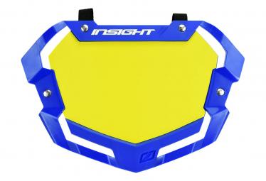 Plaque INSIGHT 3D vision2 pro white et yellow/blue