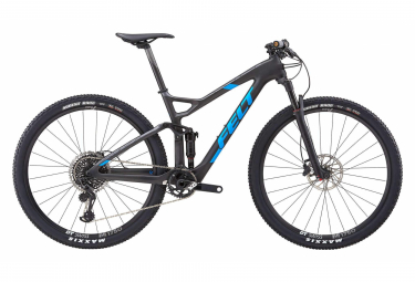Felt Edict 1 Full Suspension MTB Sram X01 Eagle 12S 29'' Carbon Grey Blue 2019