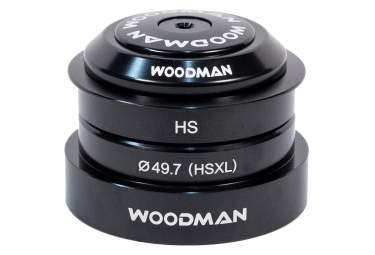 Jeu de Direction Woodman Externe Axis HSB(49.7) XL-TP Cannondale 1'1/8 - 1.5'' Noir
