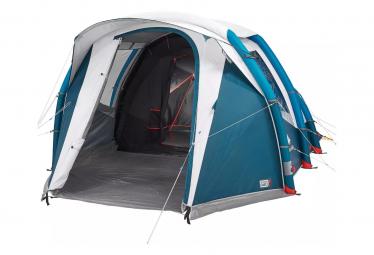 Tente Gonflable Quechua Air Seconds 4.1 Bleu Blanc 4 Personnes