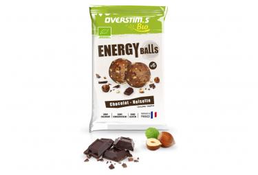 Energy Balls Bio Overstim's Chocolat - Noisette 1 sachet de 6