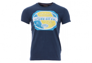 Tee-Shirt Homme Bleu Petrol Industries