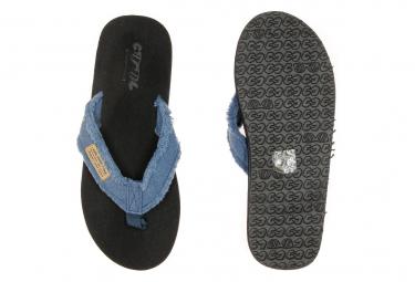 Tongs noires homme Cool Shoe Deep