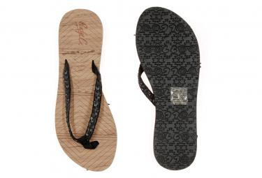 Tongs liège/noir femme Cool Shoe Low Key
