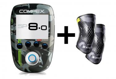 Electro Stimulateur Compex SP 8.0 Wod Edition + Genouillères Taille XL