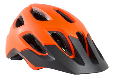 Casco Bontrager Tyro Youth Bike Radioattivo arancione